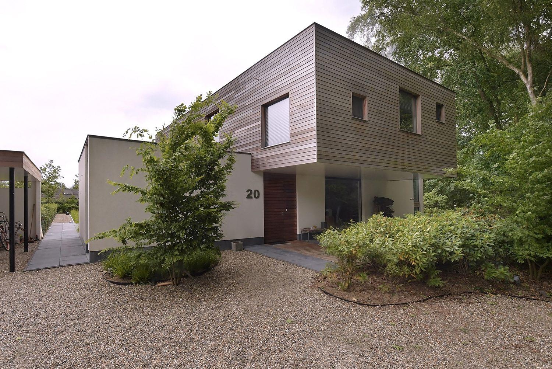 Minimalistische villa